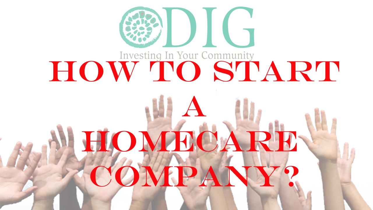 Start a Homecare Company